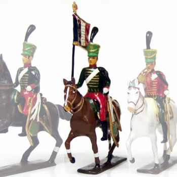 etendard du 7e régiment de hussards (1808)