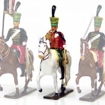 trompette (d'ordonnance) du 7e régiment de hussards (1808)