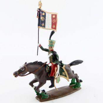 etendard du 7e Hussards à la charge