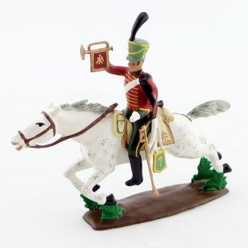 trompette du 7e Hussards à la charge