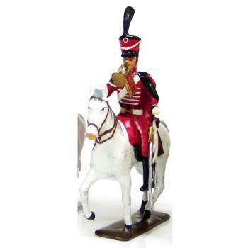 trompette (d'ordonnance) du 8e régiment de hussards (1808)