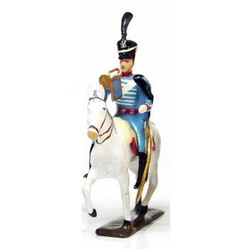 trompette (d'ordonnance) du 10e régiment de hussards (1808)