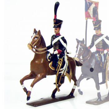 officier du 11e régiment de hussards (1808)