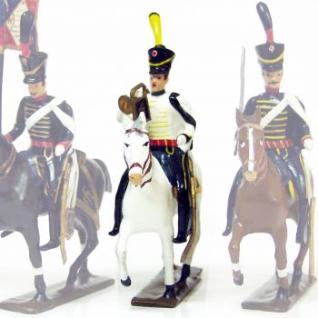 trompette (d'ordonnance) du 11e régiment de hussards (1808)