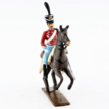 officier du 12e régiment de hussards (1808)