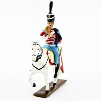 trompette (d'ordonnance) du 12e régiment de hussards (1808)