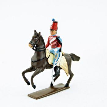 officier du 12e Hussards (1812)