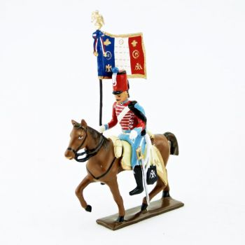 etendard du 12e Hussards (1812)