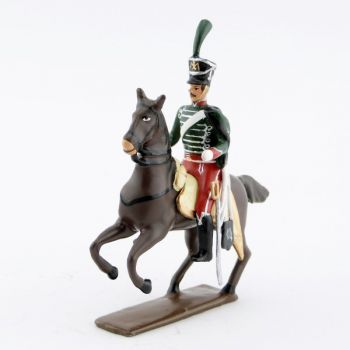 officier du 14e régiment de hussards (1808)