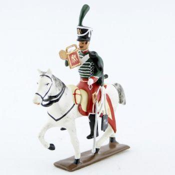trompette (d'ordonnance) du 14e régiment de hussards (1808)