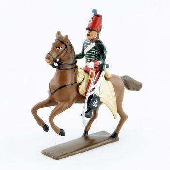 officier du 14e Hussards (1812)