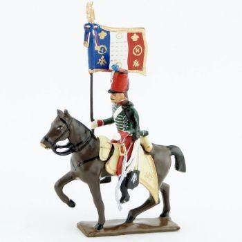 etendard du 14e Hussards (1812)