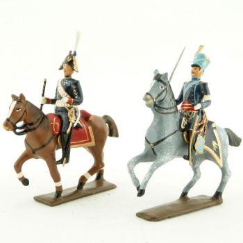 maréchal Augereau et son aide de camp