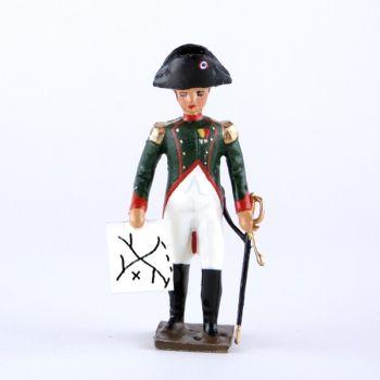 Napoléon avec carte