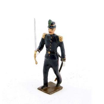officier de l'infanterie de marine, iiième république