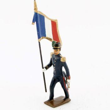 drapeau de l'infanterie de marine, iiième république