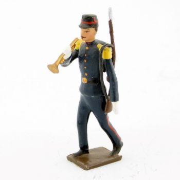 clairon de l'infanterie de marine, iiième république