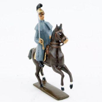 officier des chevaux-légers en capote (accompagnant la Troïka de Napoléon)