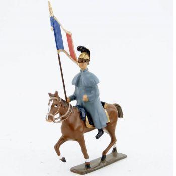 étendard des chevaux-légers en capote (accompagnant la Troïka de Napoléon)