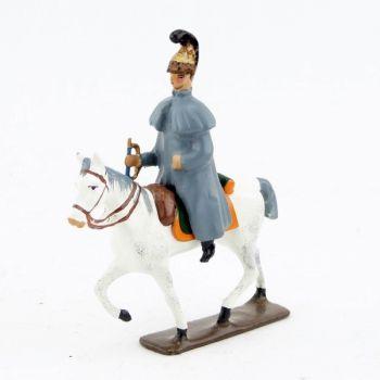 trompette des chevaux-légers en capote (accompagnant la Troïka de Napoléon)