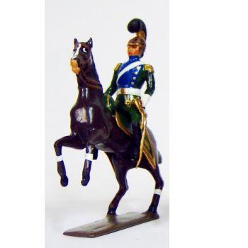 officier des chevau-léger 5ème rgt (plastron bleu) (1812)