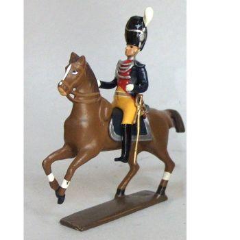 officier des gendarmes d'élite à cheval (1804), culotte jaune