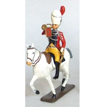trompette des gendarmes d'élite à cheval (1804), culotte jaune