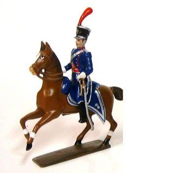 officier des chevau-leger lanciers-gendarmes a cheval (1804)