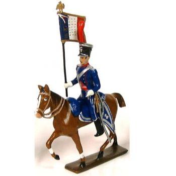 etendard des chevau-leger lanciers-gendarmes a cheval (1804)