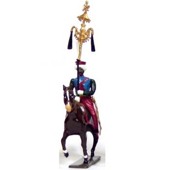 chapeau-chinois des mameluks à cheval (1810)