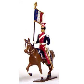 etendard du 1er regiment de lanciers (polonais) (1812)