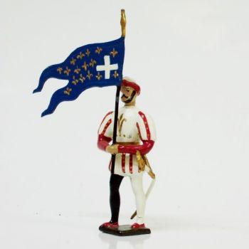 drapeau d'infanterie François 1er