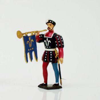 trompette d'infanterie François 1er