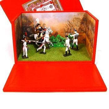 """diorama """"la Bataille de Marengo"""" (14 juin 1800)"""
