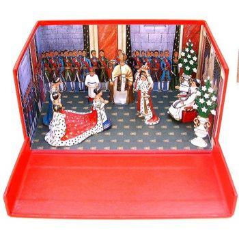 """diorama """"Le Sacre de Napoléon"""" (2 décembre 1804)"""