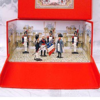 """diorama """"les Adieux de Fontainebleau"""" (20 avril 1814) - 6 pers."""