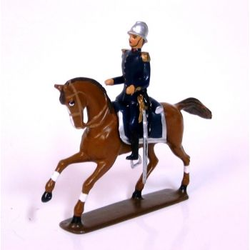 officier à cheval