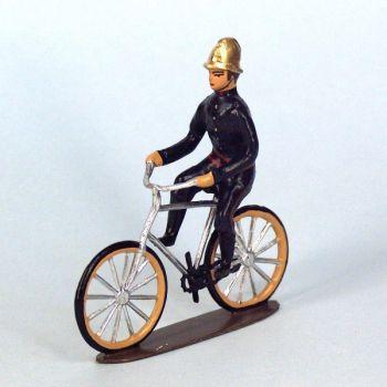 pompier cycliste