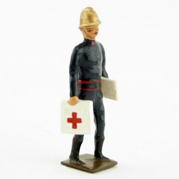 pompier infirmier (avec malette et sacoche)