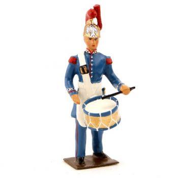 Pompier-tambour en Grande Tenue (1852)