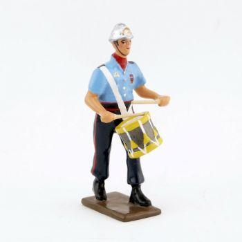 Caisse roulante (Tambour) de la Musique des Pompiers