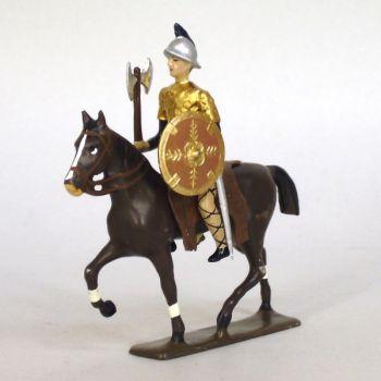 cavalier franc avec hache (cotte dorée)