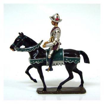 cavalier de la cavalerie henri iv avec casque