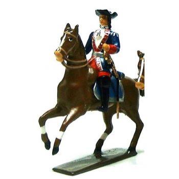 officier du regiment de balthazar (1670)