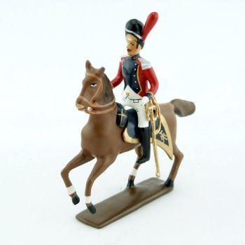 officier à cheval des grenadiers du 4e régiment suisse (1812)