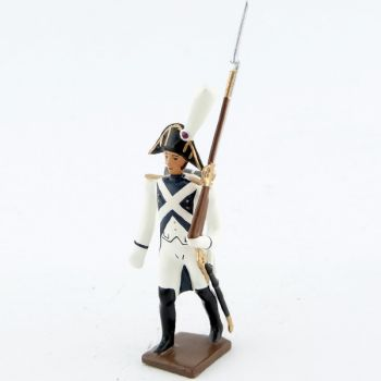fantassin de la garde d'honneur de strasbourg (1805)