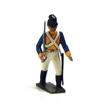officier du 8e régiment bavarois (1812)