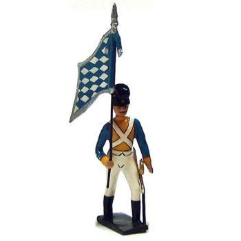 drapeau du 8e régiment bavarois (1812)