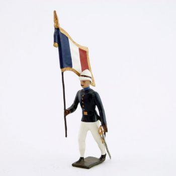 drapeau de l'infanterie coloniale (1880)