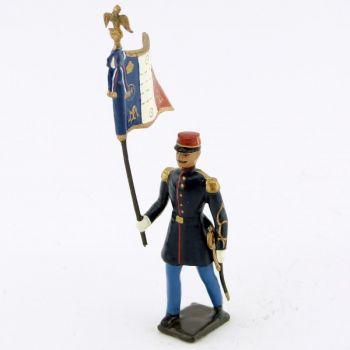 drapeau du 2ème régiment étranger (1863)